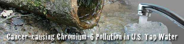 Chromium VI in Tap Water Header