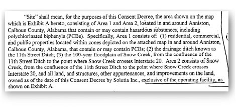 [excerpt of partial consent decree before Whitman's briefing]