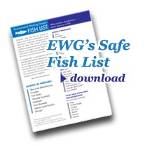 EWG's Safe Fish List download link