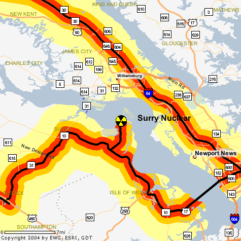 Nuclear Waste Route Map