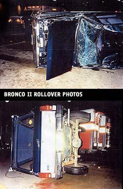 Bronco II Rollover Photos