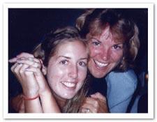 Ann Hunter-Welborn and Jessica Welborn