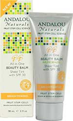 Product picture: Andalou Naturals All In One BB, (Untinted or Sheer Tint), SPF 30