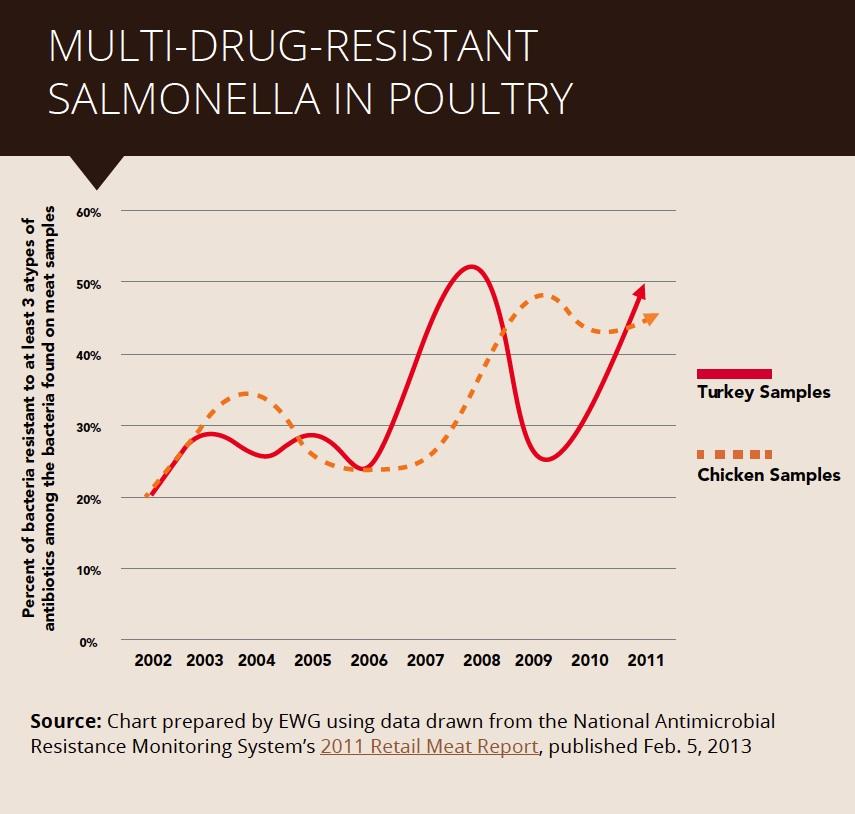 Multi-Drug Resistant Salmonella
