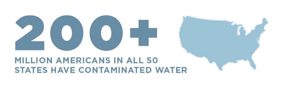 200+ Million Americans in All 50 States Have Chromium-6 Contaminated Water