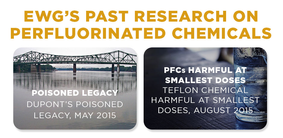 EWG's Past Research on Perfluorinated Chemicals