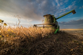 Picture of a combine
