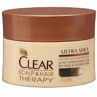 Clear scalp and hair therapy ultra shea