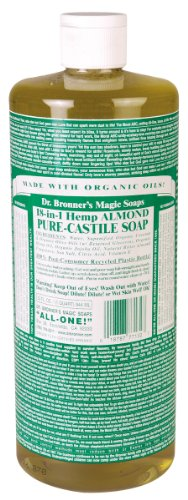 Dr  Bronner's 18-in-1 Hemp Pure-Castile Soap, Almond (old
