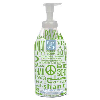 Kiss My Face Peace Soap, 100% Natural Foaming Castile Hand