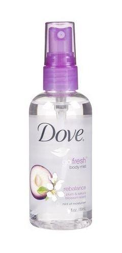 Ewg Skin Deep Dove Go Fresh Body Mist Rebalance Plum Sakura Blossom Old