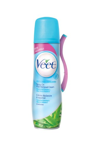 Ewg Skin Deep Veet Spray On Hair Removal Cream Sensitive