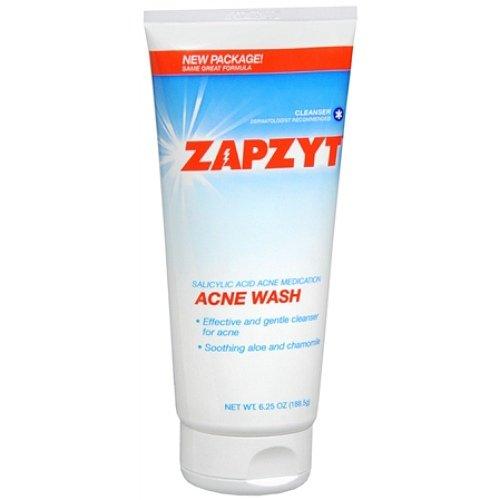 Ewg Skin Deep Zapzyt Acne Wash With Soothing Aloe Chamomile