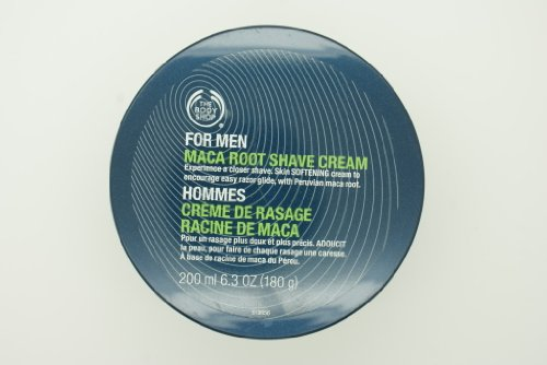 The Body Shop For Men Maca Root Shave Cream (old formulation