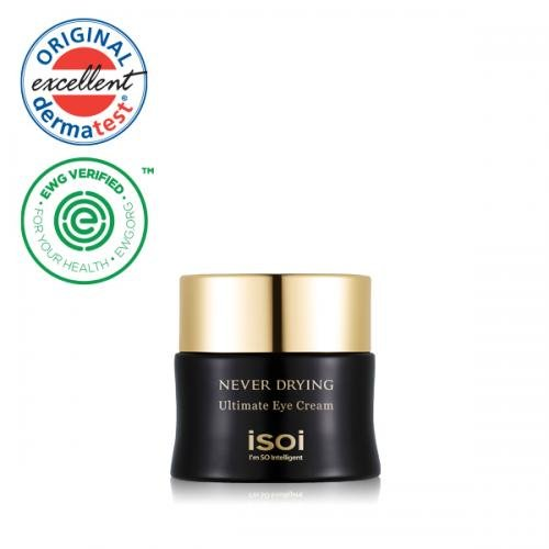 isoi never drying ultimate eye cream skin deep cosmetics