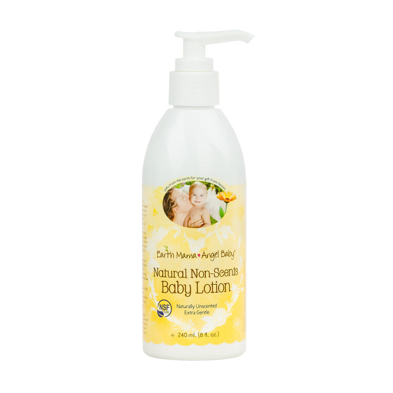 Earth Mama Natural Non Scents Baby Lotion Old Formulation