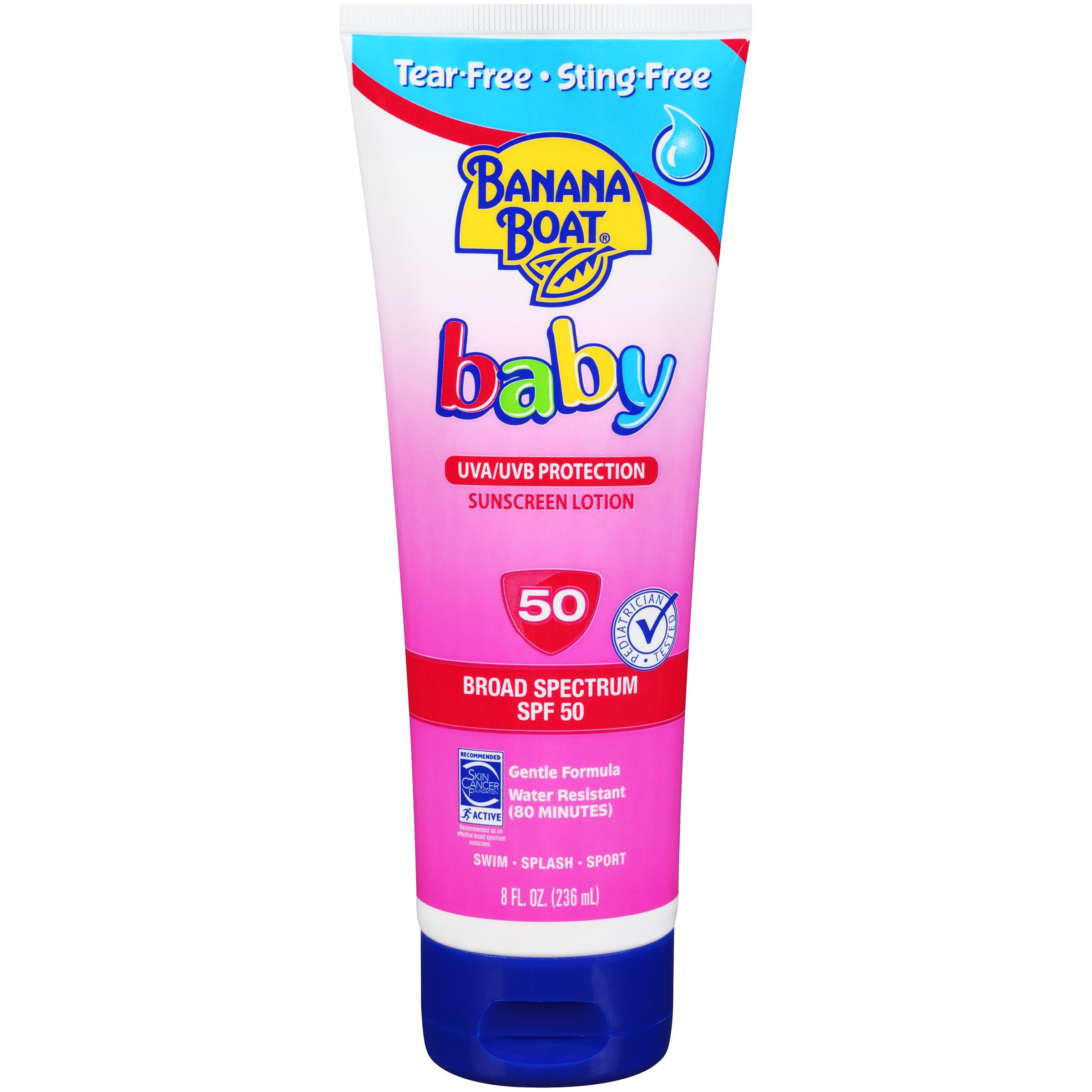 Baby Sunscreen Products Skin Deep Cosmetics Database Ewg Jafra Nourishing Hand Ampamp Nail Lotion Old Product Banana Boat Spf 50 2017 Formulation