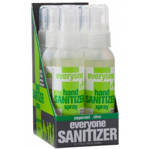 Ewg Skin Deep Everyone Botanical Hand Sanitizer Gel Coconut
